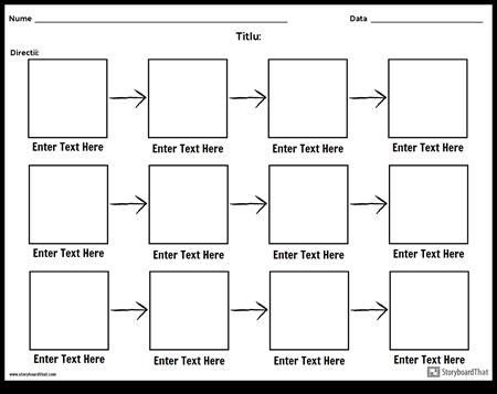 Grafic Simplu de Debit - 3 Rânduri