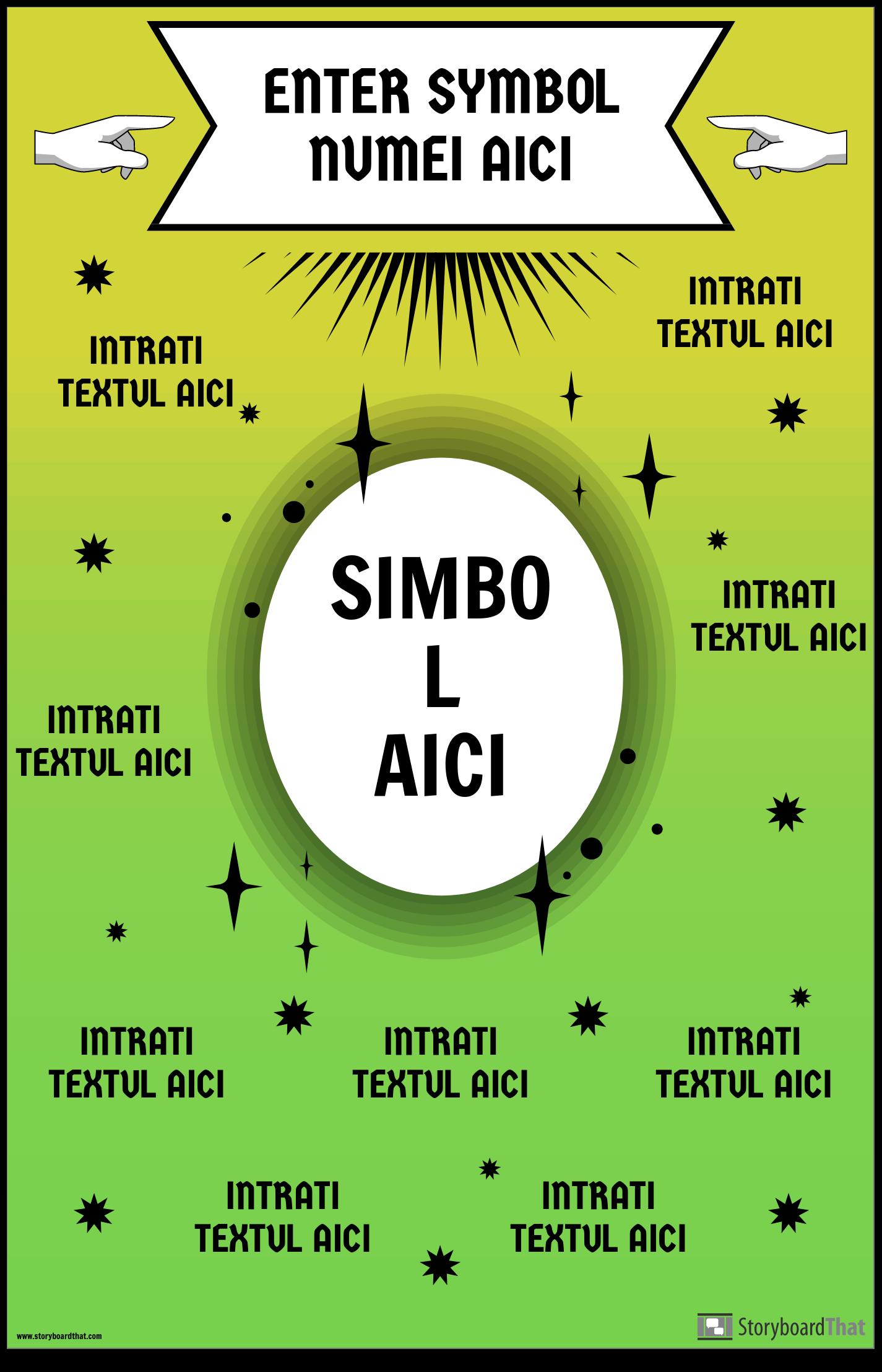 Poster Simbolul Matematicii