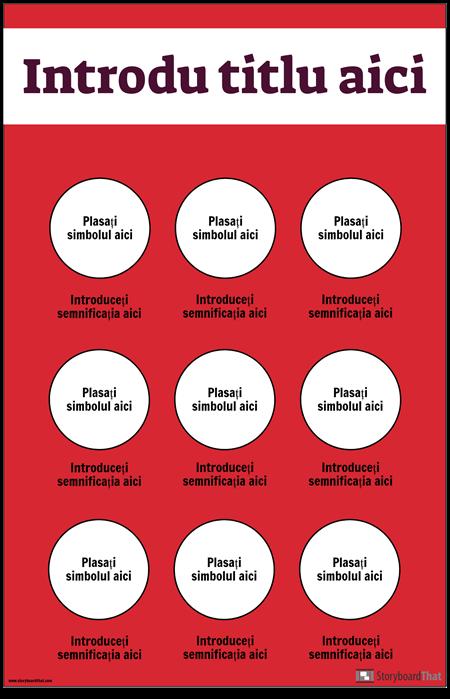 Poster Simboluri de Siguranță