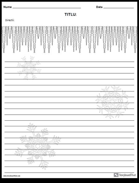 Scriere Creativă - Iarnă