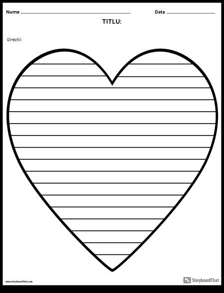 Scriere Creativă - Inimă