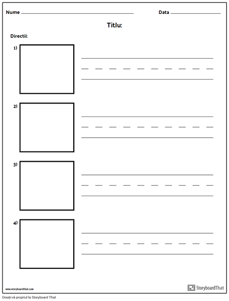 Scrierea Practicii - Cuvinte mai Lungi și Cutii de Imagini