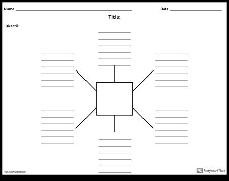 Spider Harta cu linii - 6