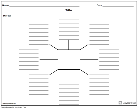 Spider Harta cu linii - 8