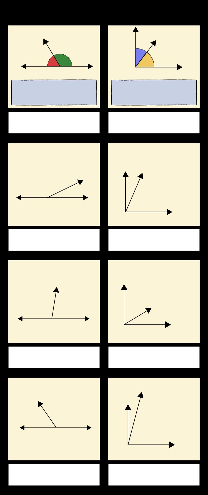 Unghiuri Suplimentare și Complementare