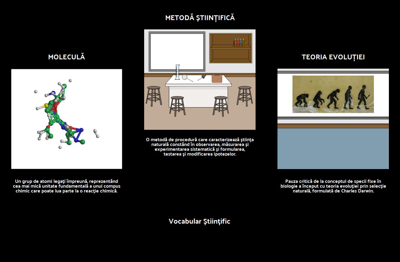 Visual Vocabular - Știință