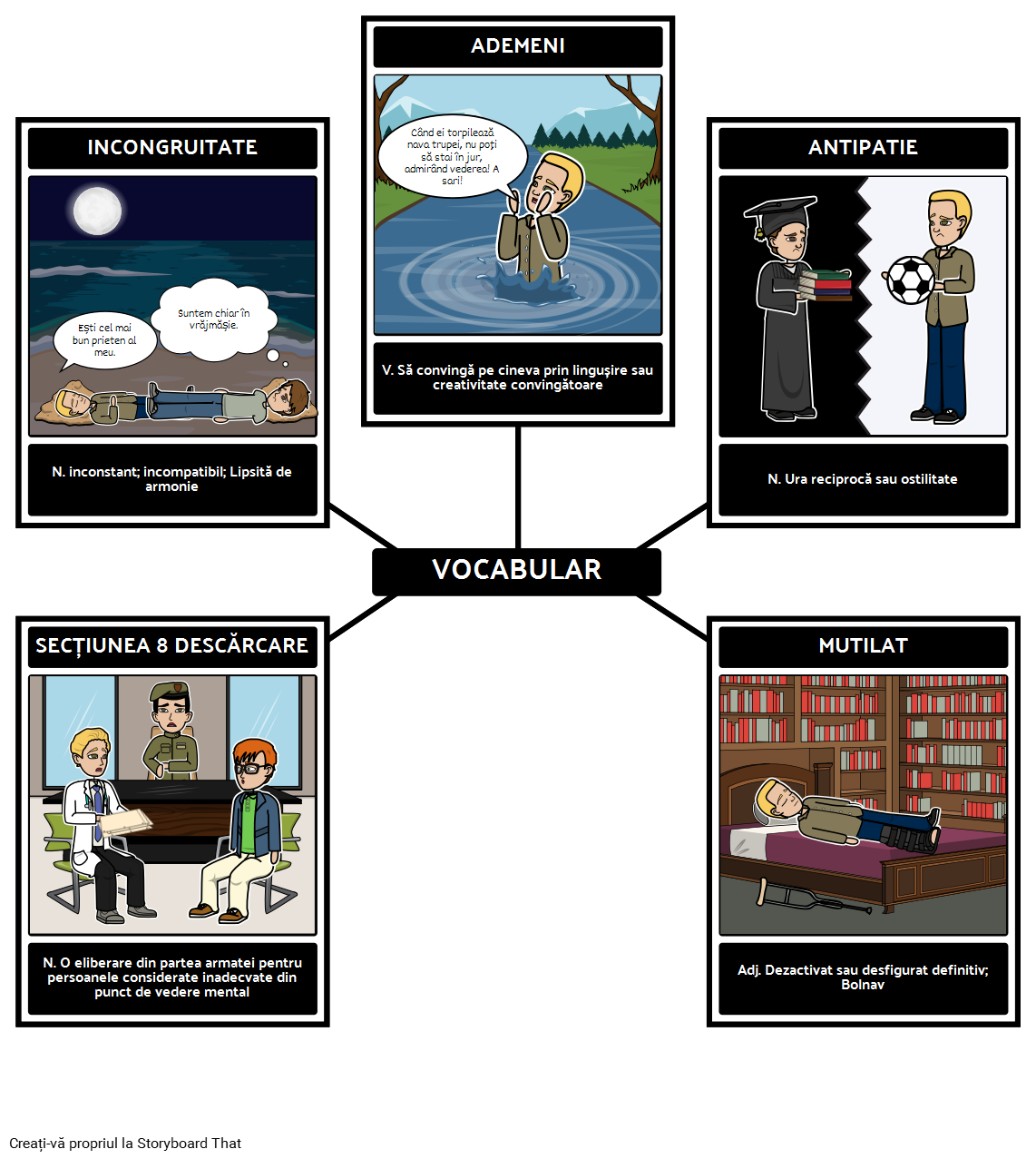 Vocabularul Pentru o Pace Separată