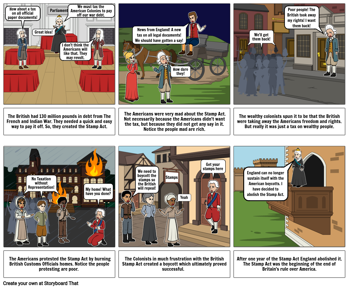 Stamp Act Project