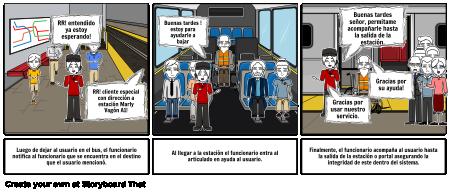 Viaje en Transmilenio parte 2