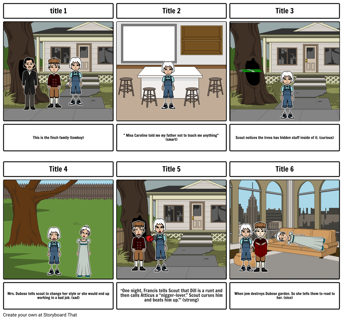 Story board part 1