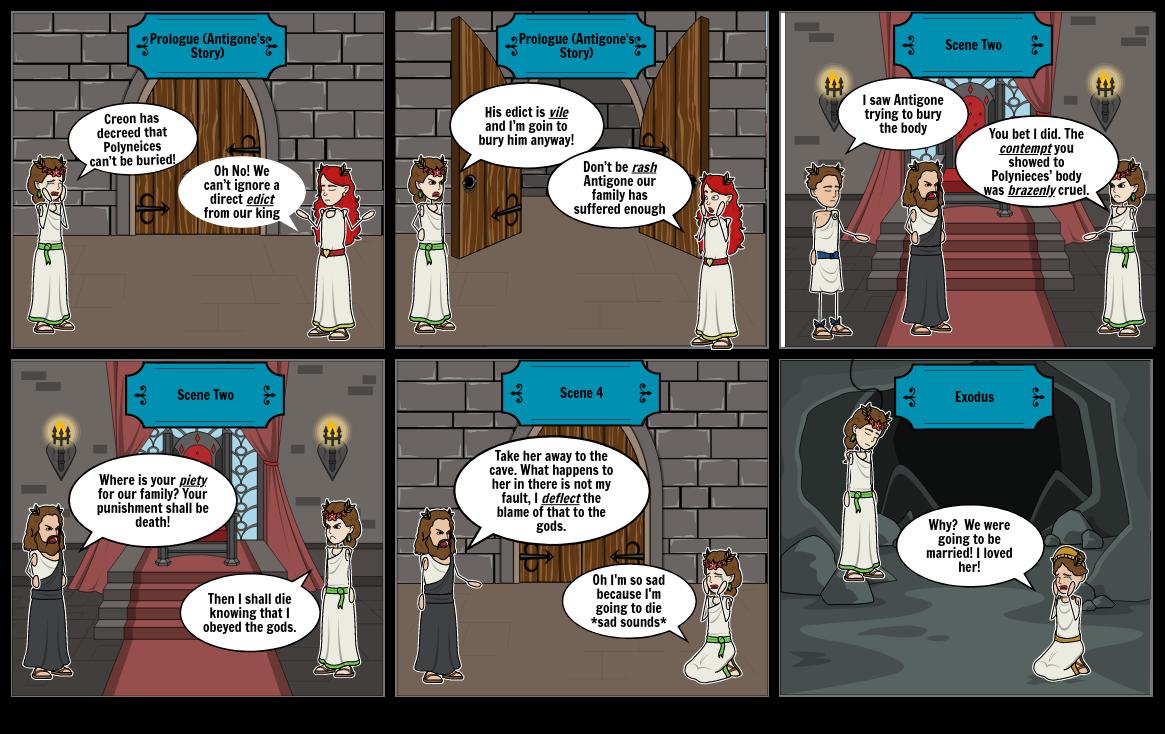 English 2 Comic Strip