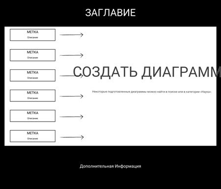 Шаблон Большой Диаграммы - Название Описание