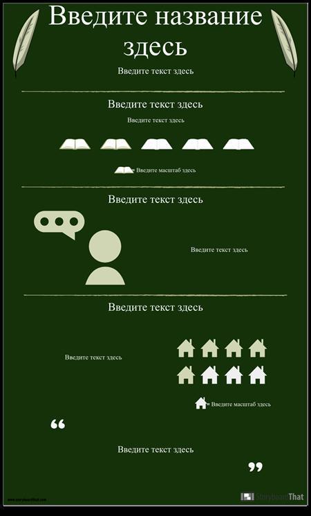 Автор / Роман Исследования Инфографики