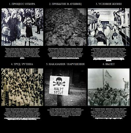 История Холокоста - Жизнь в Освенциме