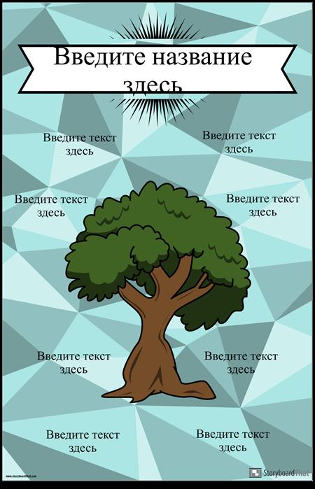 Диаграмма Привязки Деревьев