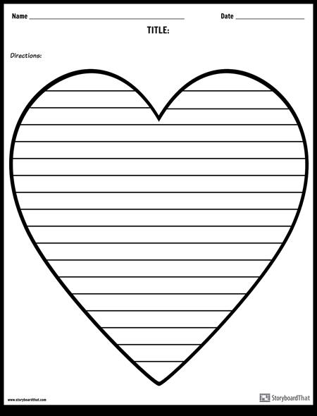 Творческое Письмо - Сердце