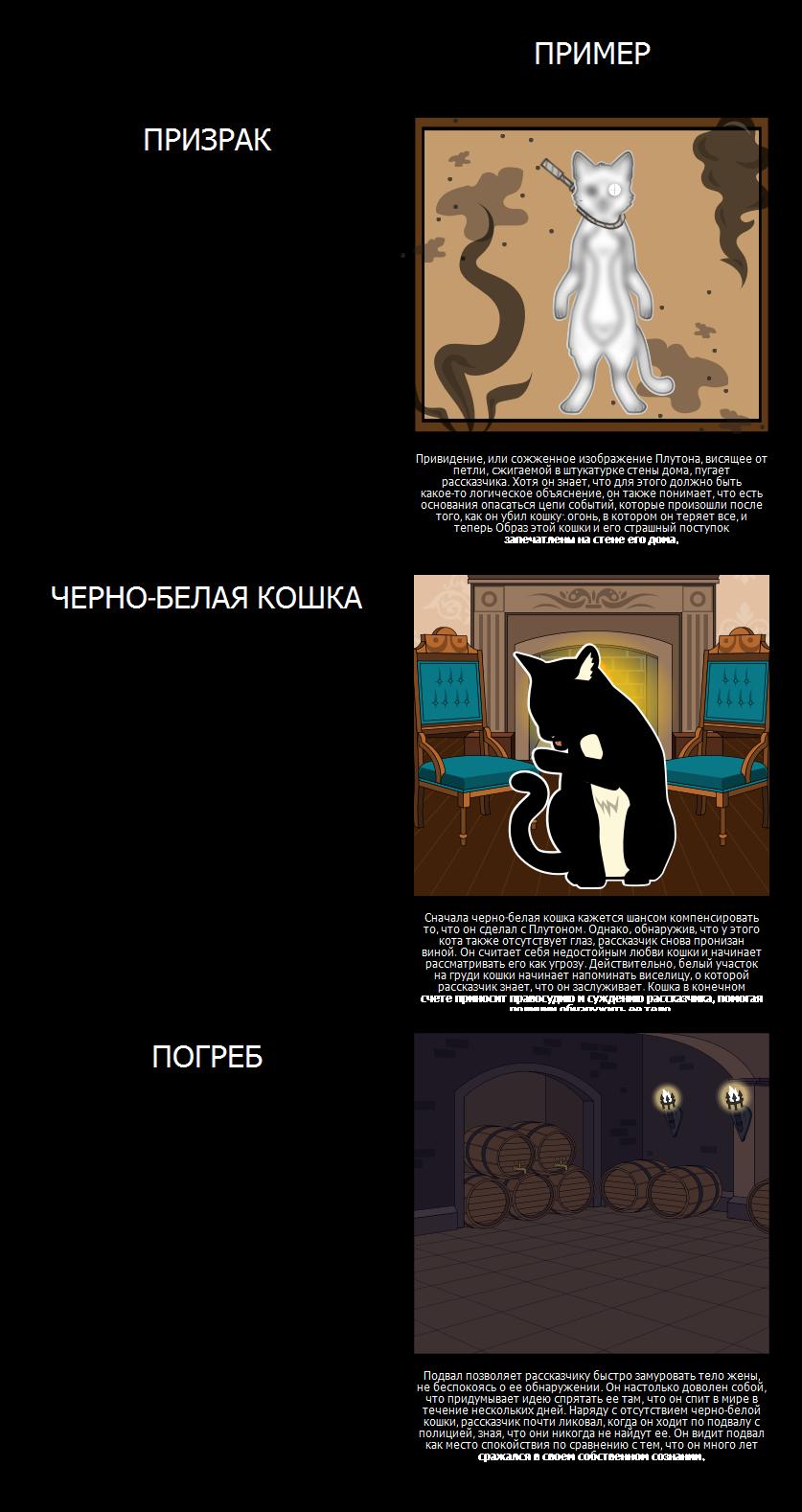Темы, Символы и Мотивы в Black Cat