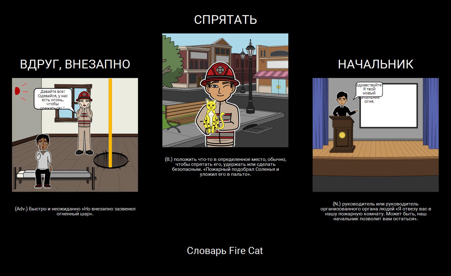 Словарь Пожарных Котов