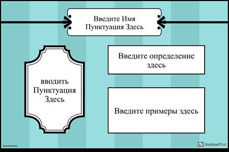 Пунктуация Плакат 1