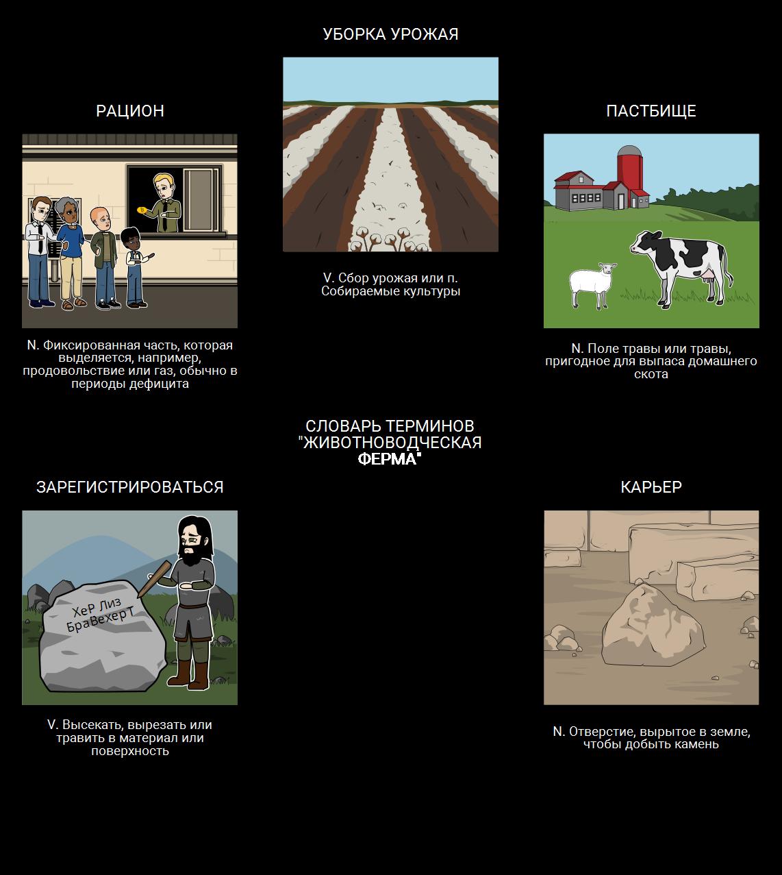 Скотный Словарь