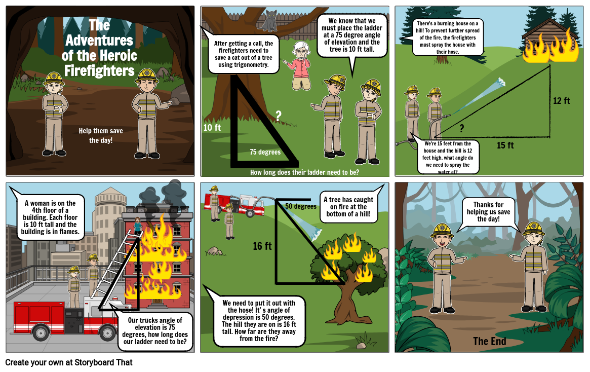 The Adventures of the Heroic Firefighters