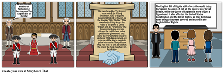 The English Bill of Rights Comic