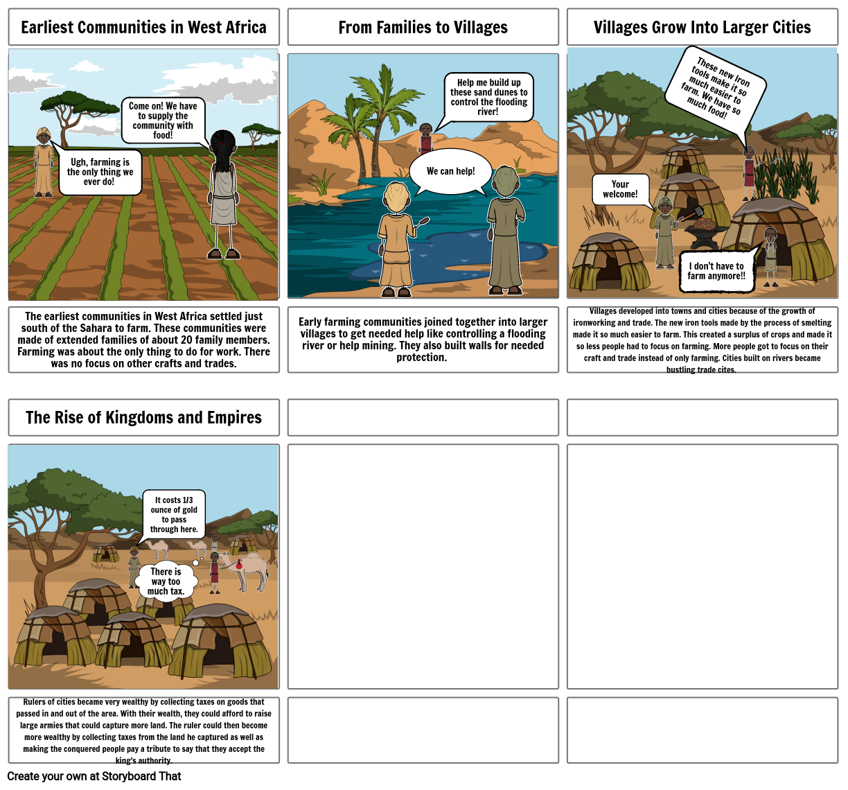 African Storyboard