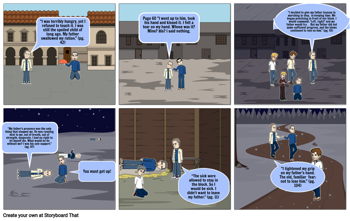 Night Storyboard