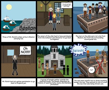 Boston Tea Party: Part 1