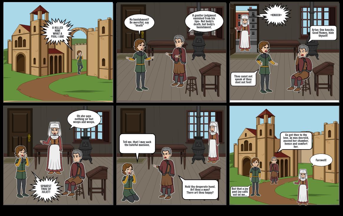 Romeo an Juliet Act 3 Scene 4
