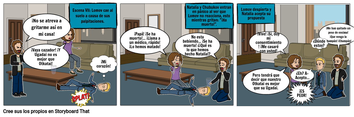 Tira Cómica-Samuel Gómez