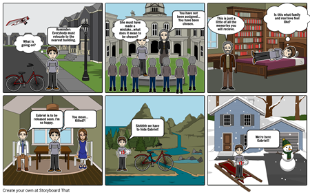The Giver Perspective Comic Strip