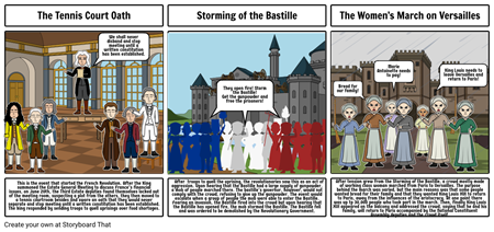 French Revolution comic