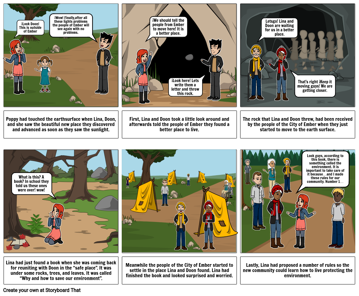 The City of Ember COMIC