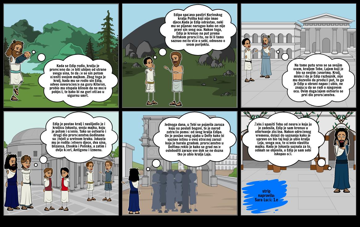 Strip o kralju Edipu
