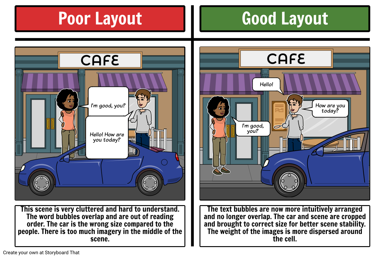 layout examples storyboard by sarah