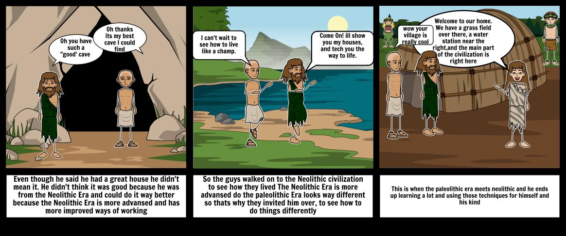 Neolithic vs Paleolithic Era