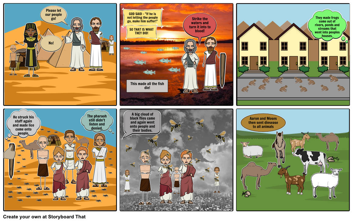 Moses, Aaron and the Plagues