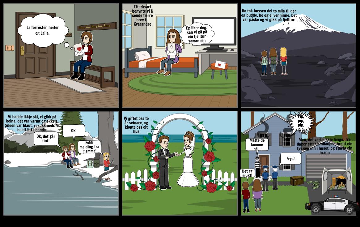 Tegneserie nynorsk (fortsettelse)