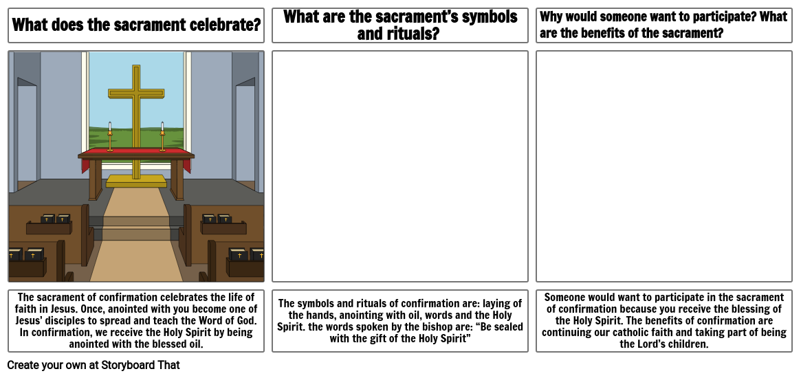 Culminating Part 1 - Confirmation