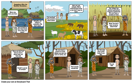 Neolithic Comic Project Page 2