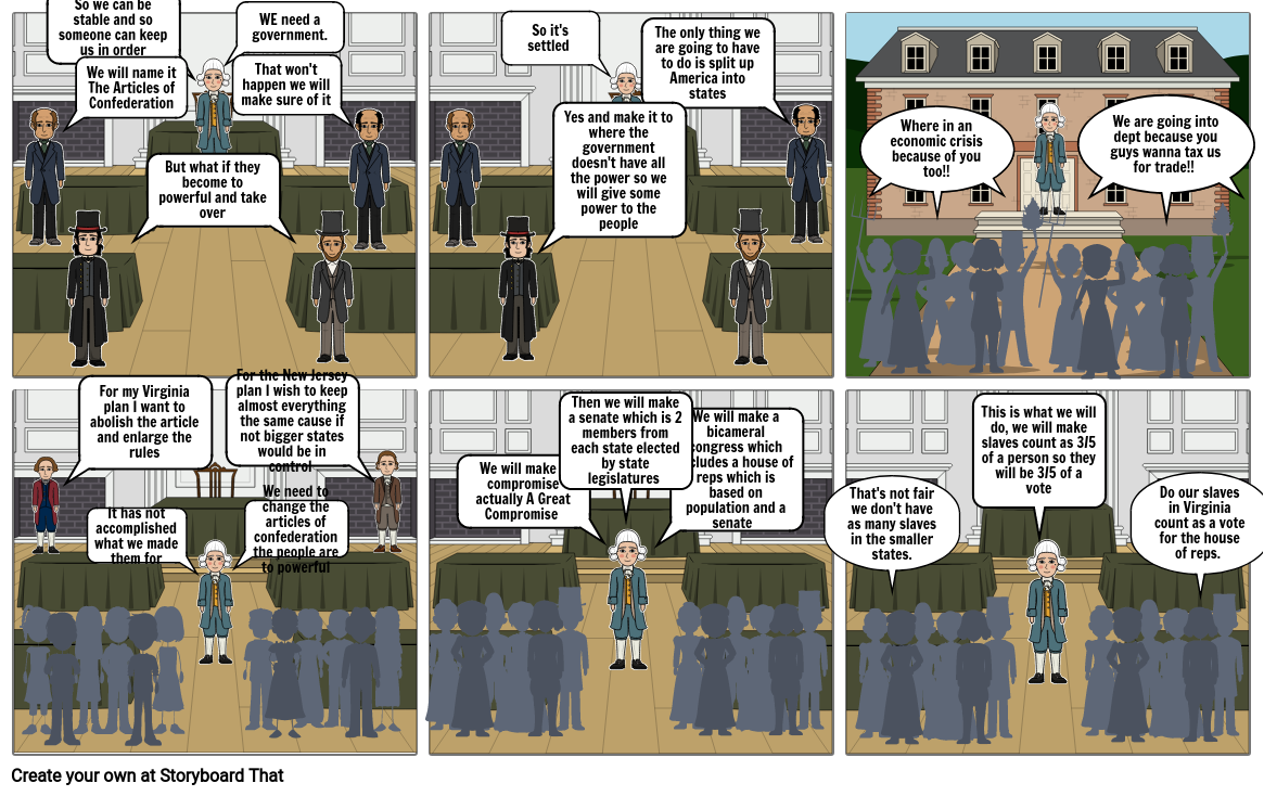 constitution storyboard