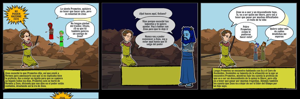 Mito de prometeo encadenado