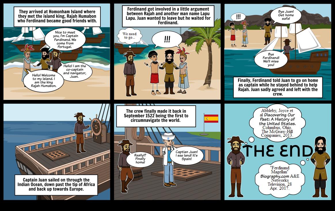 Ferdinand and Magellan Sail Around the World Part 2