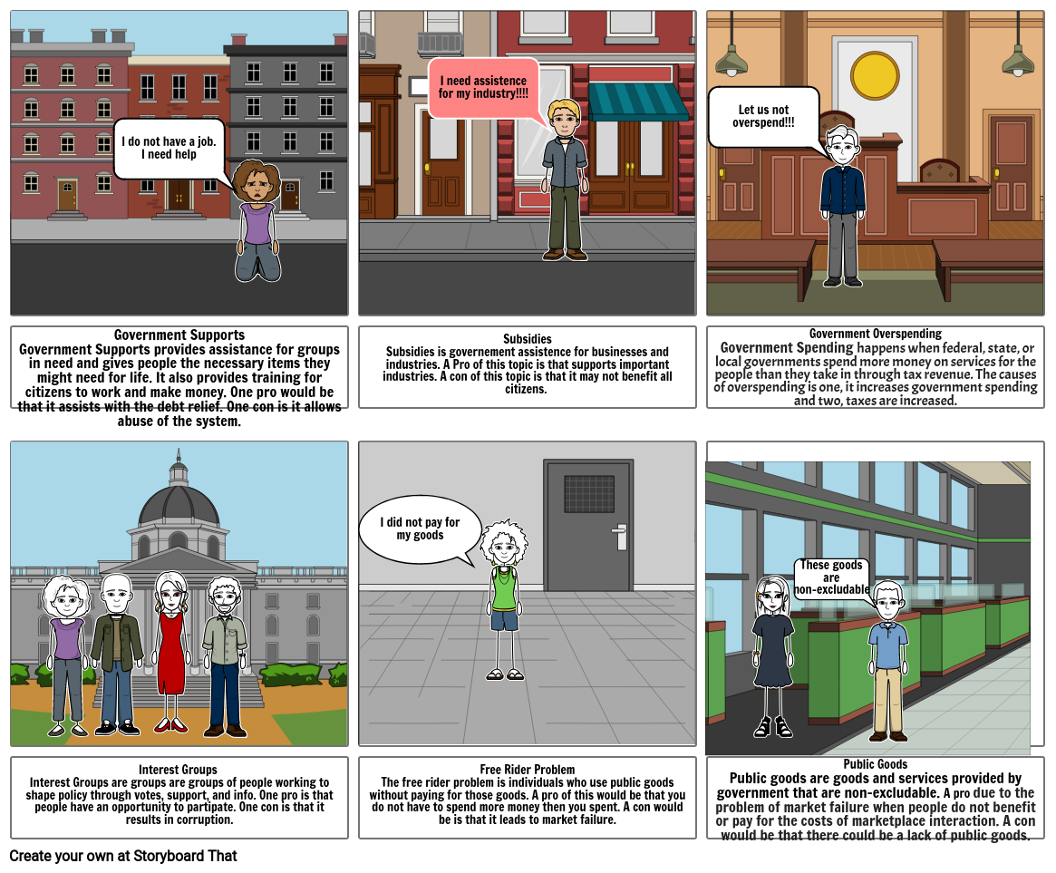 Government Storyboard