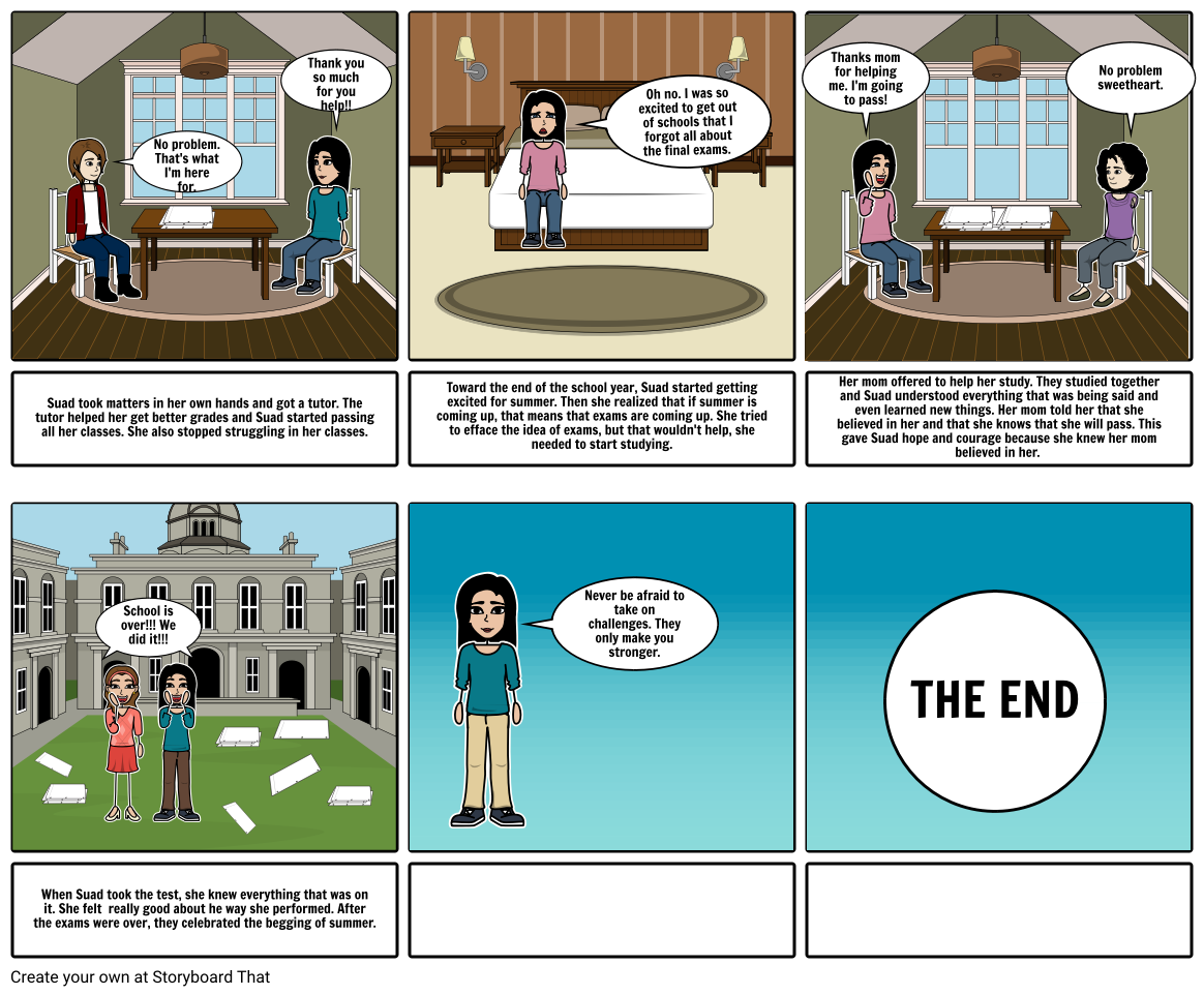 Never say Never  Storyboard by sh204900