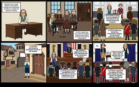 Ben Franklin American Revoulution
