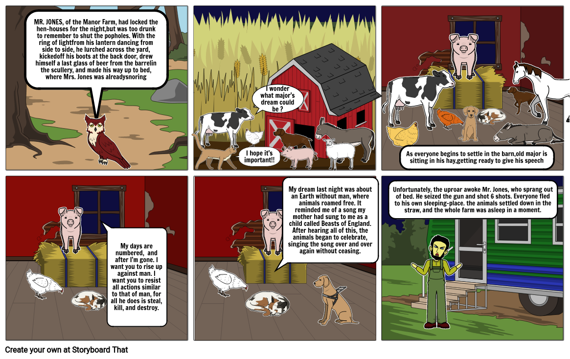 Animal Farm Chapter 1