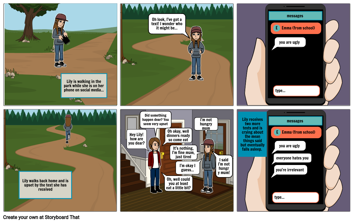 Task 3 - creating the multipage comic strip (page 1/2)