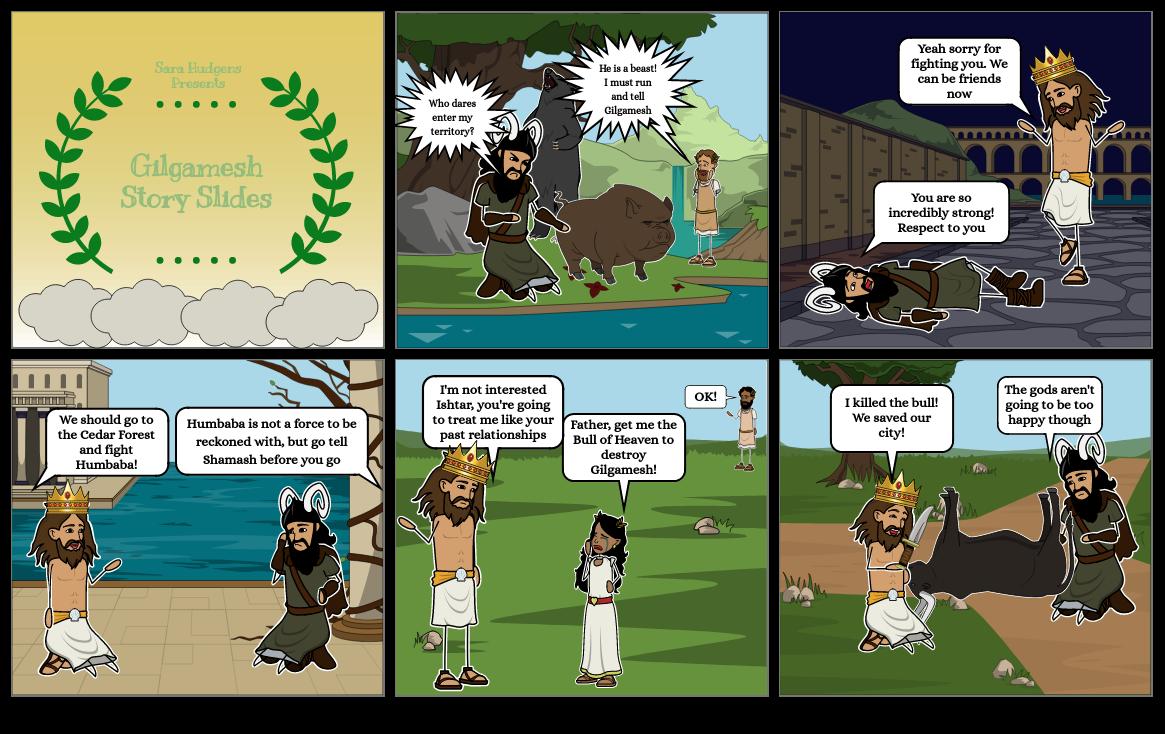 Gilgamesh Story Slides
